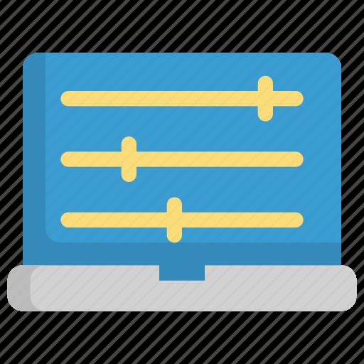 adjustment, code, coding, configuration, development, programming, setting icon