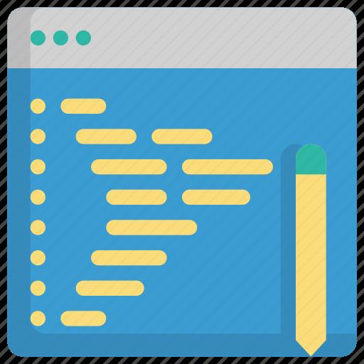 code, coding, creative, design, development, graphic, programming icon