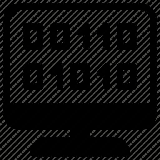 binar, code, coding, development, programming icon