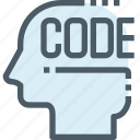 code, coding, develop, development, mind, process