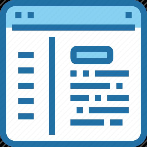 Browser, coding, develop, development, website icon - Download on Iconfinder