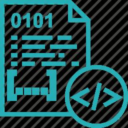 code, coding, design, development, page, programming, web icon