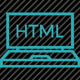 development, html, language, program, programming, web icon