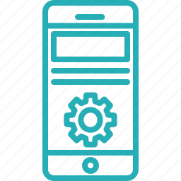 mobile, phone, program, programming, smartphone, telephone icon