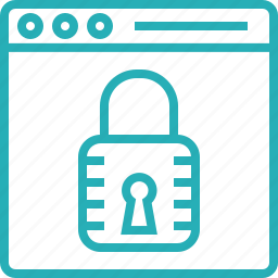 access, lock, locked, padlock, privacy, protection, security icon