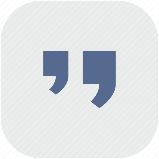 comma, edit, gray, quote, rounded, square, text icon
