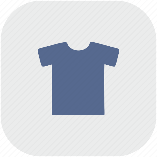 gray, man, rounded, sport, square, tshirt, wear icon