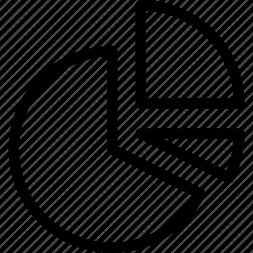 analytics, chart, icon, pie icon