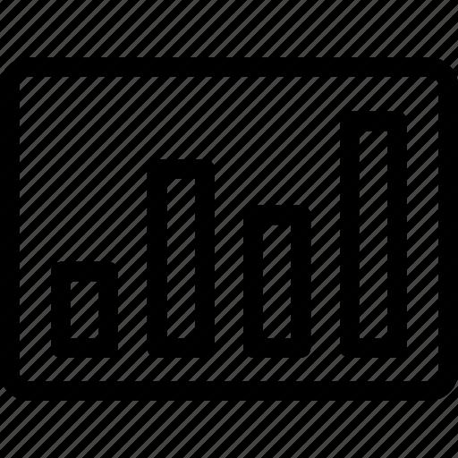 barchart, icon, progress, status icon