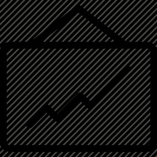 chart, graph, icon, report, statistics icon