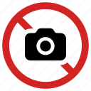 banned, camera, forbidden, no photo, picture not allowed, prohibited