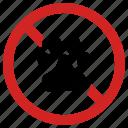 animal prohibition, dog forbidden, pet, prohibited icon