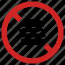 ban burger, fast food, forbidden, no hamburger, not healthy, prohibited, stop sign
