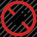 forbidden, gmo, no chemical, prohibited icon