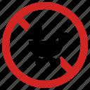 baby, forbidden, newborn not allowed, no stroller, prohibition, toddler icon