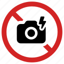 camera, flash prohibited, forbidden, no photo, prohibition icon