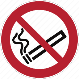alarm, iso, shape, sign, smoke, smoking, warning icon