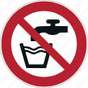 alcohol, dont drink, drink, glass, iso, water icon