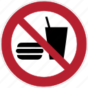 burger, drink, food, mcdonald, meal, restaurant, waste icon