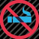 ban, cigarette, forbidden, prohibition, smoke, smoking icon