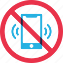 prohibition, warning, forbidden, phone, ring, mobile