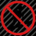 hiking, no, prohibited, trekking, walking