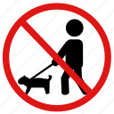 dogs, no, no pets, pets, prohibited icon