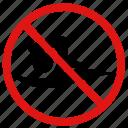 banned, danger, no, prohibited, swim, swimming