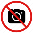 ban, camera, no, photographs, photos, pictures, prohibited icon