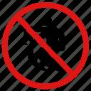 danger, no surfing, prohibited, surfing icon