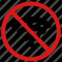 blocked, disconnected, no connection, no internet, no signal, no wireless icon