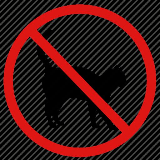 animals, ban, no, no cats, no pets, pets, prohibited icon