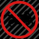 ban, bikes, no motorbikes, prohibit