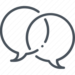 bubble, chat, design, message, speak, speech, talk icon