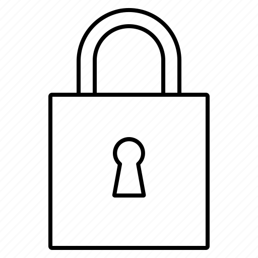 encrypted, locked, padlock, secure, security icon