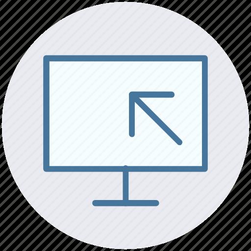 arrow, cursor, lcd, screen, selection icon