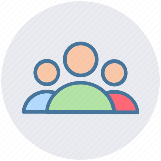 group, humans, mans, persons, team, users icon
