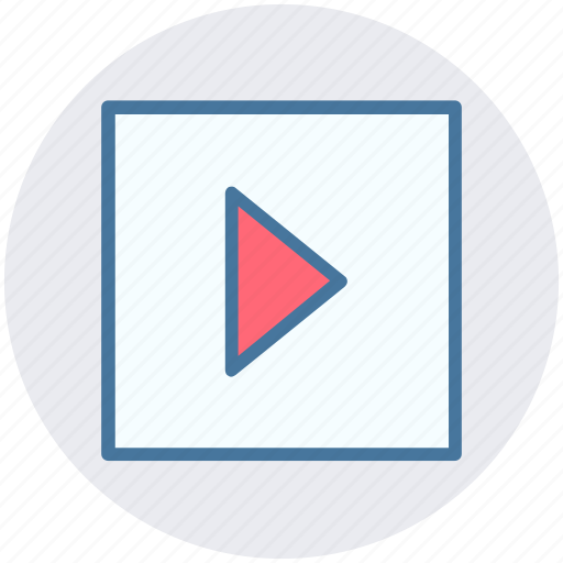multimedia, music, play, sound, start icon