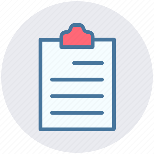 contract, documents, file, papers, sheet icon