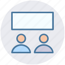board, business, management, people, presentation, presentation board icon