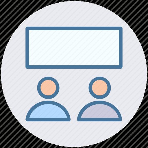 board, business, management, people, presentation, presentation board icon