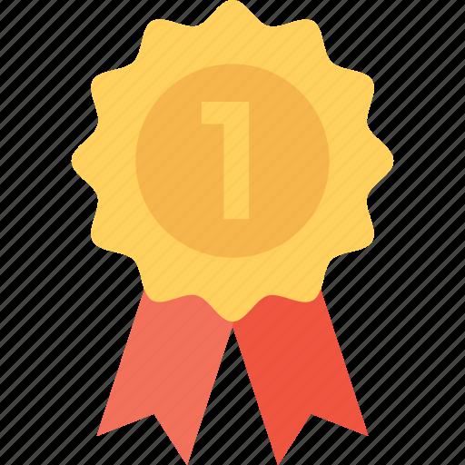 award, badge, position, premium, quality icon