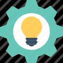 creative idea, cogwheel, generate idea, invention, idea