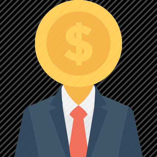Banker, businessman, businessperson, financier, investor icon - Download on Iconfinder