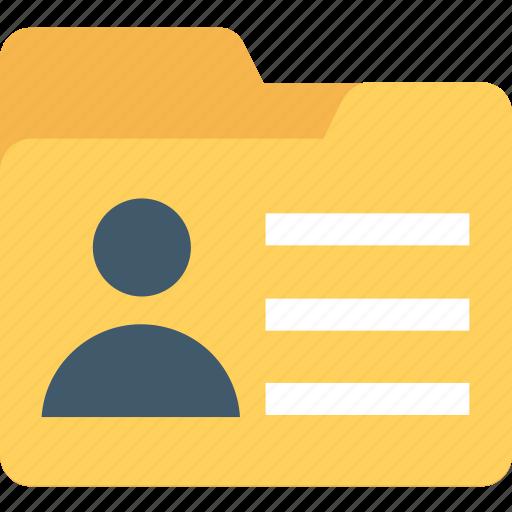 data folder, data storage, file storage, folder, personal folder icon