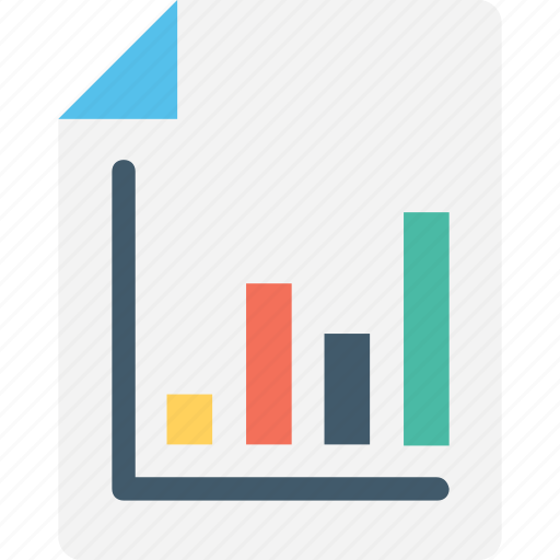 analysis, analytics, bar graph, business report, report icon