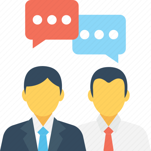 Communication, discussing, speech bubble, talking, users icon - Download on Iconfinder