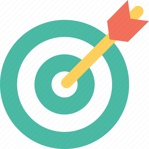 Aim, crosshair, goal, objective, target icon - Download on Iconfinder