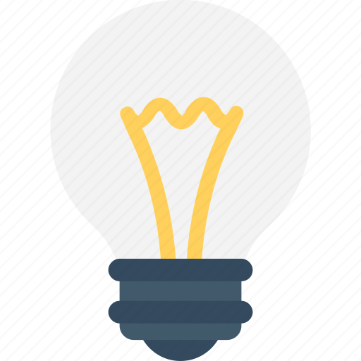 Bulb, electrical, idea, light bulb, luminaire icon - Download on Iconfinder