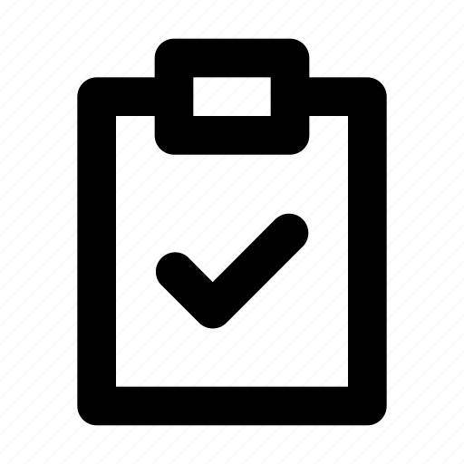 check, clipboard, file, office, planing icon